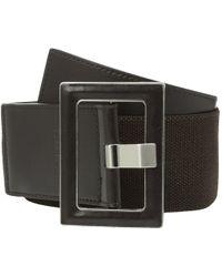 CALVIN KLEIN 205W39NYC - 60mm Stretch Belt W/ Smooth Leather - Lyst