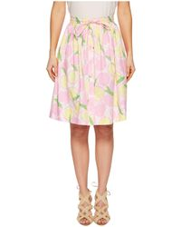 Boutique Moschino - Lemon Print Knee-length Skirt - Lyst