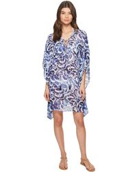 c1ee92d57c Lyst - Kenneth Cole Reaction Laser-cutout Tunic Cover-up in White