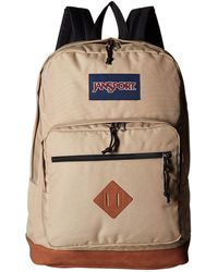 4bf6ba5d8f Lyst - Jansport City View Backpack in Blue