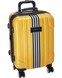 "Tommy Hilfiger - Reji Stripe 20"" Upright Suitcase - Lyst"