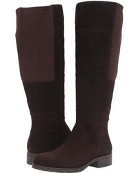 Bandolino Terusa Chocolate Suede Women's Boots GILNCYQ for Sales