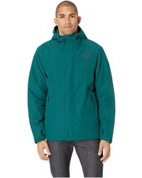 4eb08b12e Lyst - The North Face Inlux Insulated Jacket in Green for Men