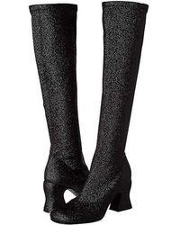 McQ - Kitty Knee Boot 75 (black) Boots - Lyst
