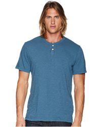 Joe's Jeans - Wintz Short Sleeve Slub Henley - Lyst