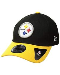 ba7ea44cb KTZ Pittsburgh Steelers Multi Super Bowl Champ Bucket Hat in Black for Men  - Lyst
