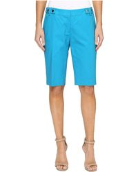 MICHAEL Michael Kors - Snap Waist Bermuda Shorts - Lyst