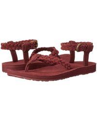 Teva | Original Sandal Suede Braid | Lyst