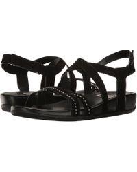 46d089bcf18e Fitflop - Lumy Crisscross Sandals W  Studs - Lyst