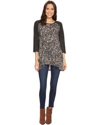 Jag Jeans - Kaia Color Block Knit Tunic - Lyst