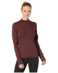 Nike - Pro Hypercool Rib Long Sleeve Top (el Dorado/clear) Clothing - Lyst