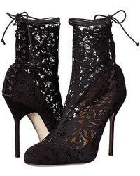 Marchesa - Mia (black Lace) Shoes - Lyst