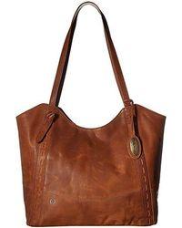 Born Oakton Tote (saddle) Tote Handbags
