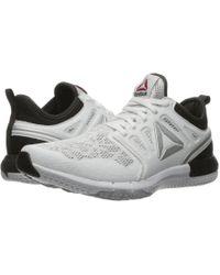 2ad5a1504b9 Lyst - Reebok Zprint Run Sneaker in Black