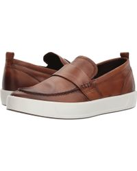 Ecco - Soft 8 Loafer - Lyst