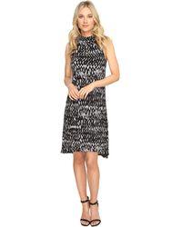Kensie - Painted Zigzag Dress Ks1k7927 - Lyst