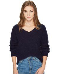 BB Dakota - Corley Fuzzy Knit Sweater - Lyst