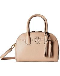 44858709ae6e MICHAEL Michael Kors. Devon Large Shoulder Tote. $398 $239 (40% off).  Dillard's · Tory Burch - Mcgraw Small Satchel (devon Sand) Satchel Handbags  - Lyst