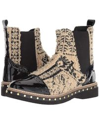 Free People - Textile Atlas Chelsea Boot (beige) Pull-on Boots - Lyst