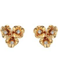 Kate Spade - Shine On Flower Cluster Studs Earrings - Lyst