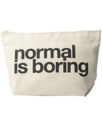 Dogeared - Normal Is Boring Lil Zip - Lyst