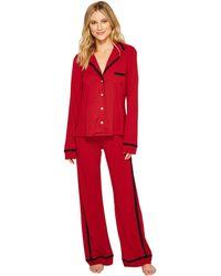 Cosabella | Bella Amore Long Sleeve Top Pants Pj Set | Lyst