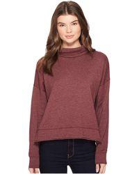 Three Dots - Fleece Sweatshirt - Lyst