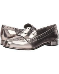 3db2d0240 Donna Karan York Patent Leather Loafers in Black - Lyst