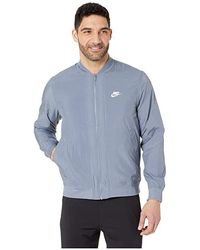 bb1e8c0fa Nike - Nsw Woven Players Jacket (armory Blue/white) Coat - Lyst