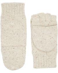 UGG - Classic Knit Flip Mittens - Lyst