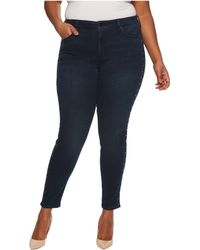 NYDJ - Plus Size Ami Skinny Legging Jeans With Studs In Future Fit Denim In Mason - Lyst