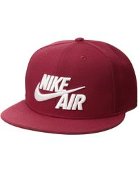 e79a916f634 Lyst - Nike True Statement Tour Golf Hat in Red for Men