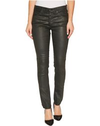 AG Jeans - The Legging Ankle In Vintage Leatherette Lt Climbing Ivy - Lyst