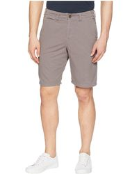 True Grit - Heritage Chino Shorts Hand Treated Washed With Stitch Detail - Lyst
