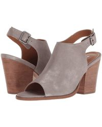 52b056886d02a5 Lyst - Tommy Hilfiger Parker Strappy Wedge Sandal