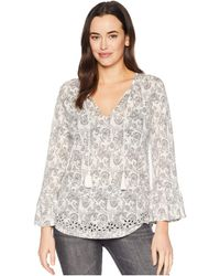 Lucky Brand - Printed Top - Lyst