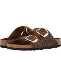 c0c88685c243 Lyst - Birkenstock Women s Arizona Big Buckle Leather Sandals ...