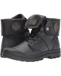 Palladium - Pallabrouse Baggy L2 Women's Mid Boots In Black - Lyst