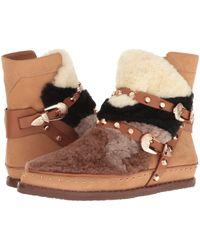 Ivy Kirzhner - Antarctic Genuine Shearling Patchwork Boot - Lyst