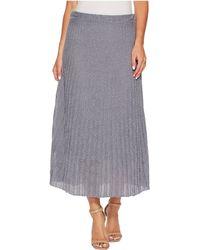 NIC+ZOE - Fluid Knit Skirt - Lyst