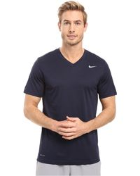c7c5eb53 Nike - Legend 2.0 Short Sleeve V-neck Tee (game Royal/black/
