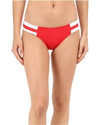 Seafolly - Block Party Spliced Hipster Bottoms - Lyst