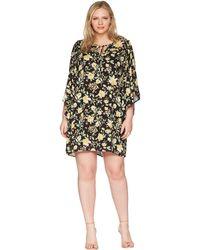 B Collection By Bobeau - Plus Size Morna Ruffle Sleeve Dress - Lyst