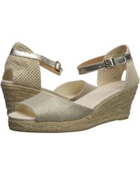 985f950ac95a Soludos - Open-toe Midwedge (70mm) Espadrille Wedge Sandal - Lyst