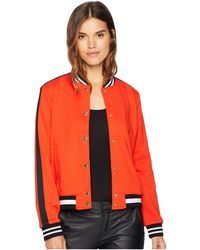 Juicy Couture - Luxe Tiger Patch Terry Bomber Jacket - Lyst
