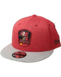KTZ - 9fifty Official Sideline Away Snapback - Tampa Bay Buccaneers - Lyst df94539e2