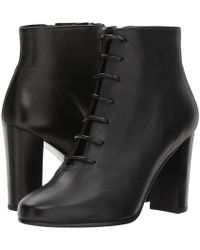 The Kooples - Suede Boots With Details At The Laces - Lyst