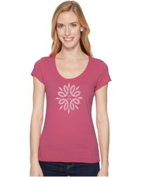 Life Is Good. - Flower Power Smooth Tee - Lyst
