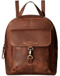 Born - Springfield Distressed Backpack W/ Dog's Leash On Front Pocket - Lyst