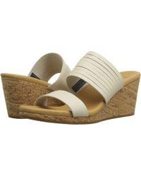 Teva - Arrabelle Slide Leather Sandal - Lyst